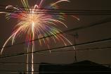 江戸川の花火⑦