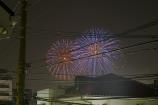 江戸川の花火⑤