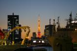 船と東京タワー