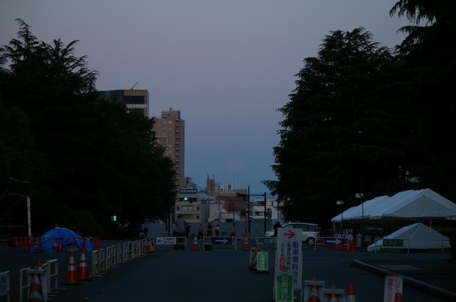 月と富士⑥
