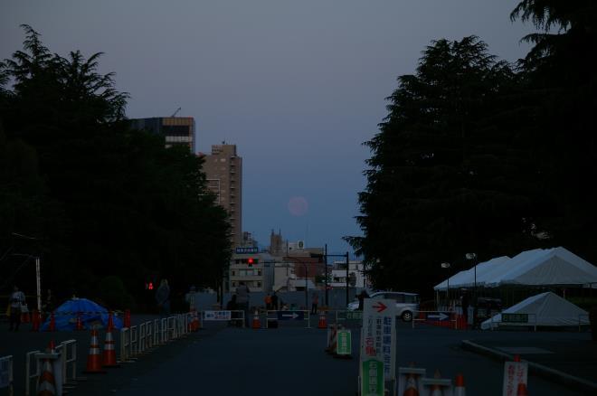月と富士⑤