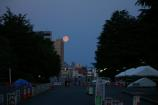 月と富士②