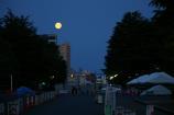 月と富士①