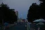 月と富士④