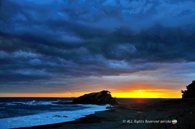 Bear's Rock sunset