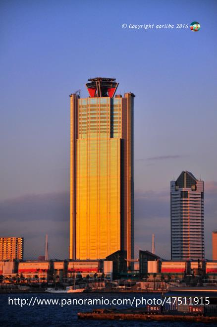 The sun shines World Trade Center Building