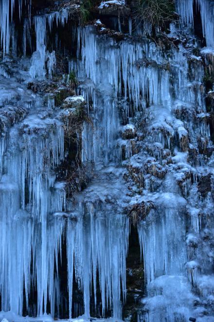天然氷柱の美