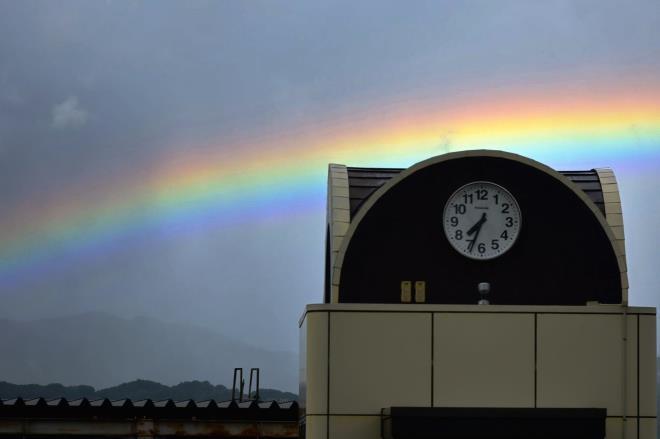 虹の時計台1