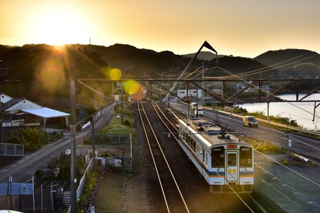 日の出とおれんじ鉄道