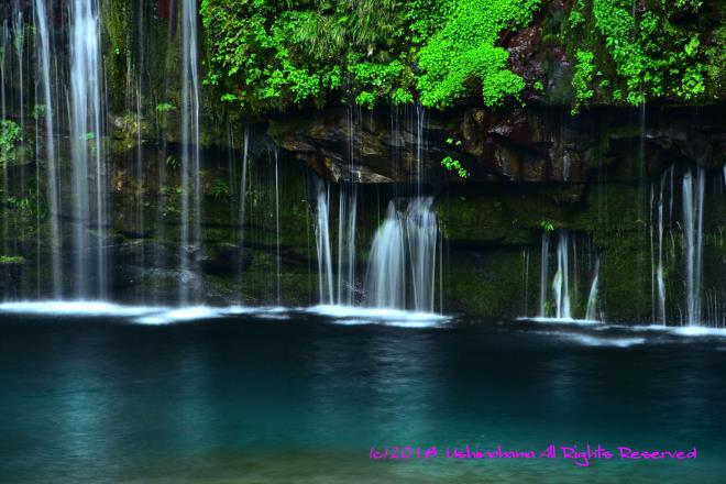 メインの滝の横にある滝_5054