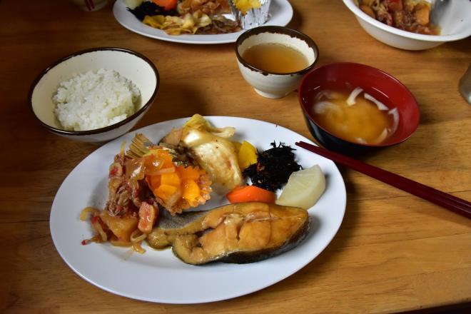 北岳山荘の夕食
