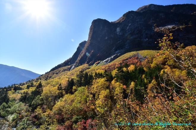 屏風岩の秋